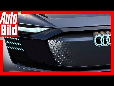 Audi e-tron Sportback (Auto China 2017) - Studie nah an der Serie / SUV / Coupé
