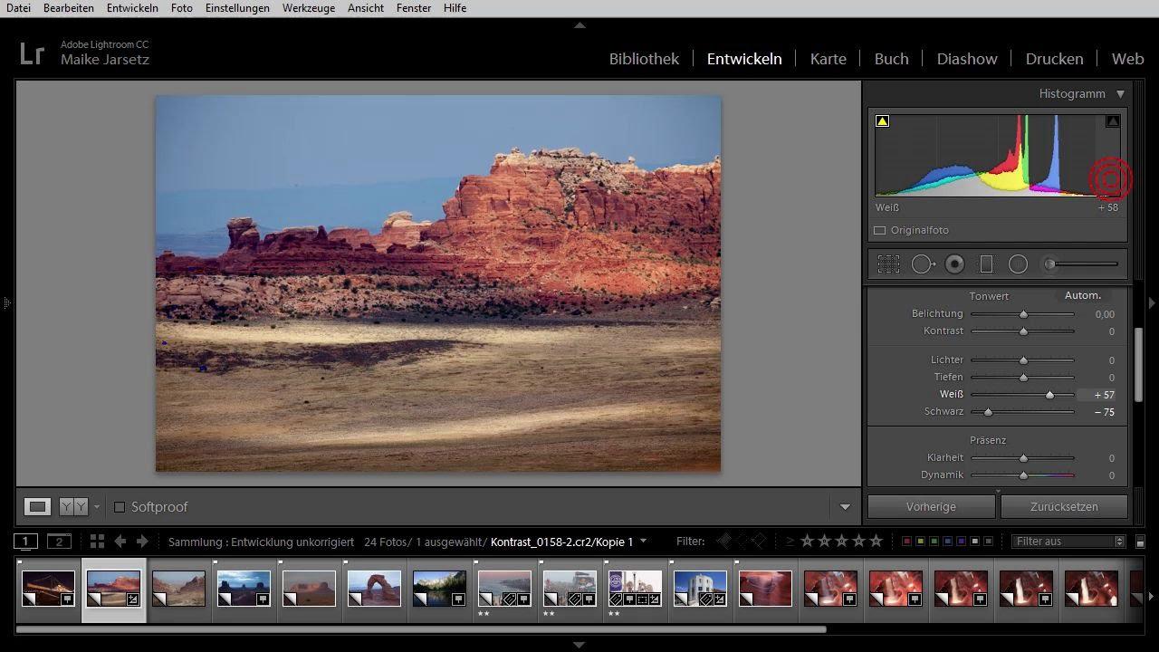 Das Histogramm als Korrekturwerkzeug   Adobe Photoshop Lightroom 6 und CC –  Das umfassende Training