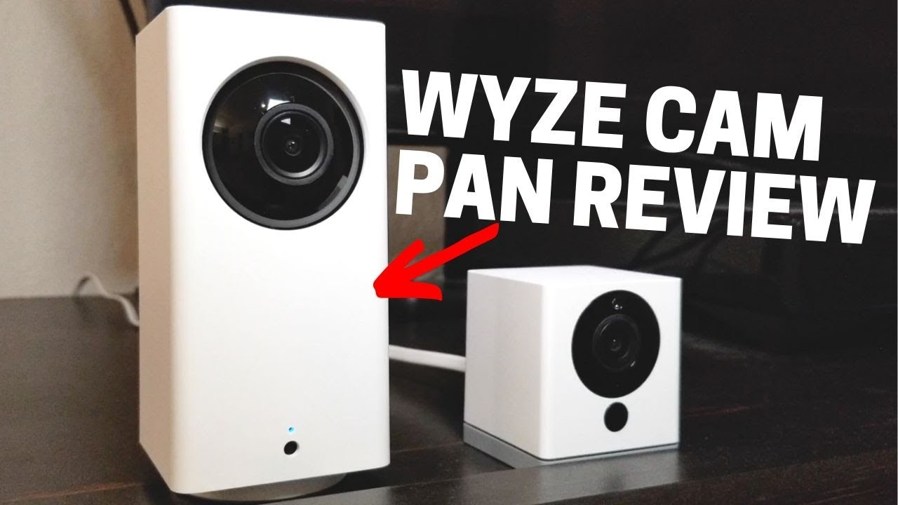 Wyze Cam Pan Review: Follows You    Creepy or Cool?
