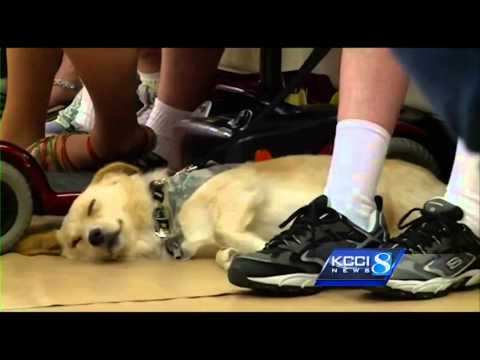 Iowa soldier says goodbye to his best friend