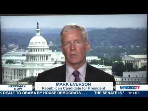 Newsmax Now | Mark Everson discusses discusses comparisons to Ross Perot