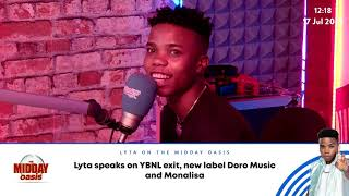 Lyta wants ex-boss Olamide to forgive him and admits to missing Fireboy DML