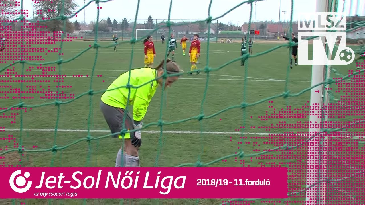 Szent Mihály - FTC-Telekom | 0-5 | JET-SOL Liga | 11. forduló | MLSZTV