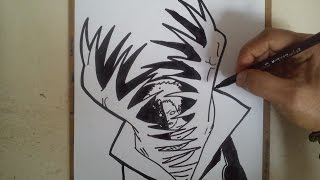 COMO DIBUJAR A ZETSU AKATSUKI / how to draw zetsu akatsuki
