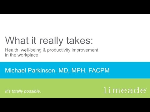 Webinar: Health, well-being and productivity improvement