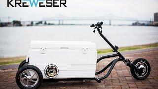 Kreweser - The Premier Motorized Cooler