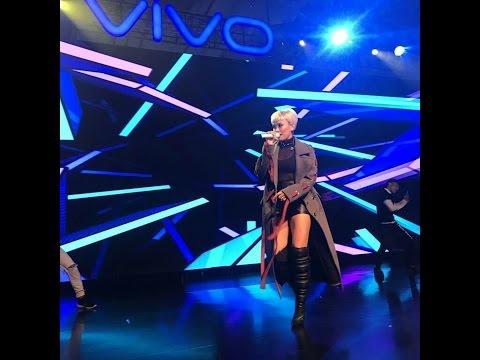 AGNEZ MO - Tak Ada Logika, Ini Gila Ini Cinta, Flyin High di Launching Vivo V5s - 10 Mei 2017