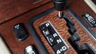 режимы W и S АКПП  расход топлива в этих режимах. Mercedes W210