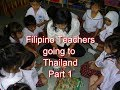 How to become a Filipino English teacher in Thailand - documents