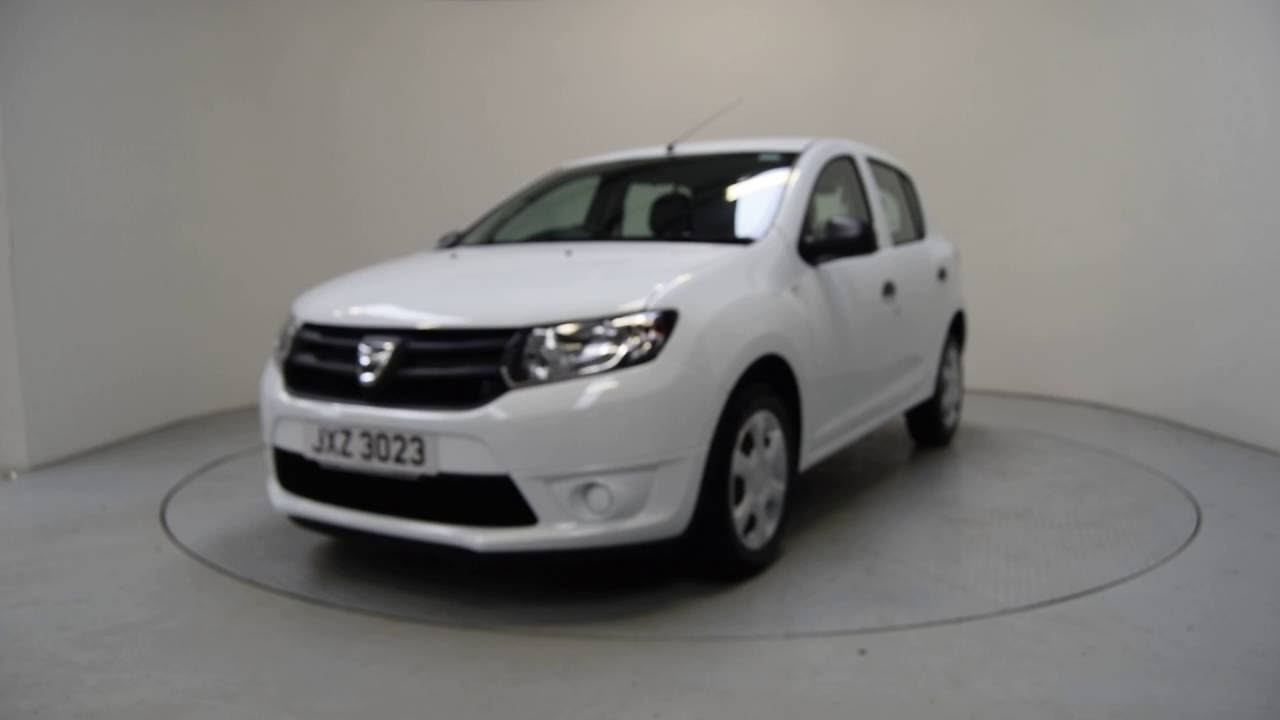 2016 dacia sandero ambiance dacia sandero ni shelbourne motors jxz3023 youtube. Black Bedroom Furniture Sets. Home Design Ideas