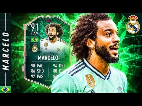 MOST VERSATILE PLAYER IN FIFA 20?! 91 CAM SHAPESHIFTERS MARCELO REVIEW!! FIFA 20 Ultimate Team