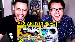 VFX ARTISTS REACT TO BOLLYWOOD BAD & GREAT CGI | Corridor Crew |  Reaction | Jaby Koay