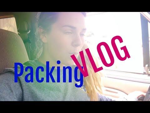 Moving Across Da Country  Packing Vlog