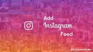 How to add Instagram Feed into your website