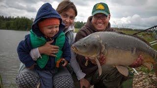 видео Семейная рыболовная база. Cемейный отдых и рыбалка в подмосковье