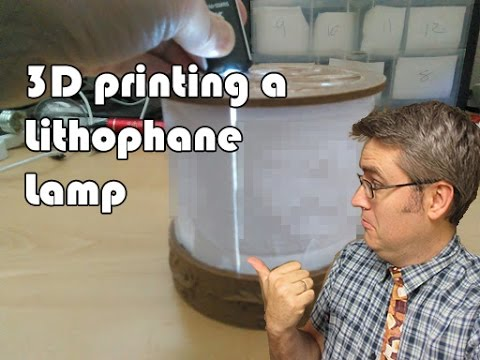 From failure comes 3D Printing success - Lithophane Lamp project
