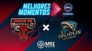 MSI 2019: Fase de Entrada - Dia 1 | Melhores Momentos PVB x ISG (By Dell Gaming)