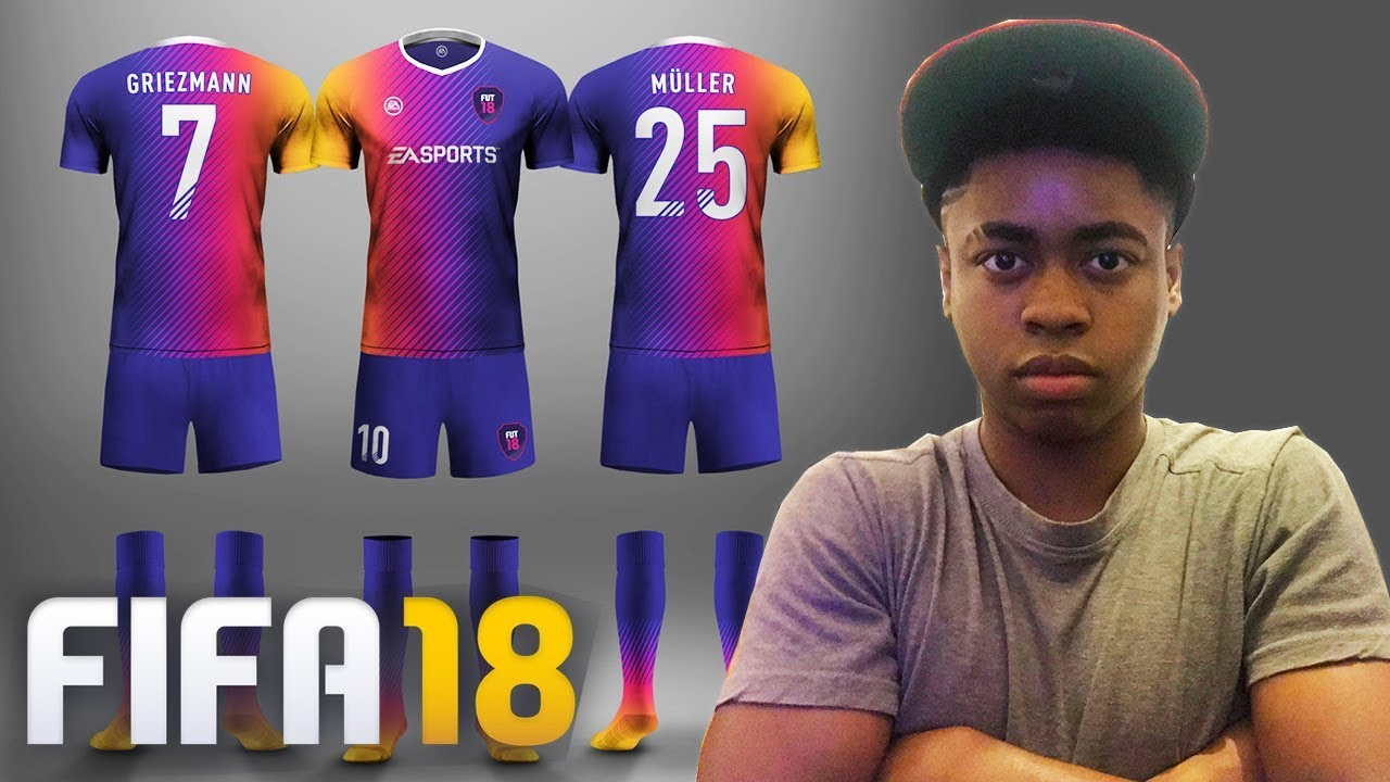FIFA 18 - NEW MODE - CREATE YOUR OWN CUSTOM KITS ! 😱🔥🔥 - YouTube dfdc11fd7