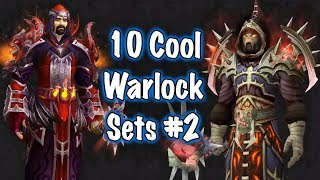 Jessiehealz - 10 Cool Warlock Transmog Sets #2 (World of Warcraft)
