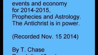 Predictions of world events and economy 2014   2015   2016, Prophecies and Astrology
