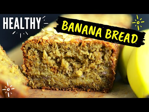 Healthy Oatmeal Banana Bread