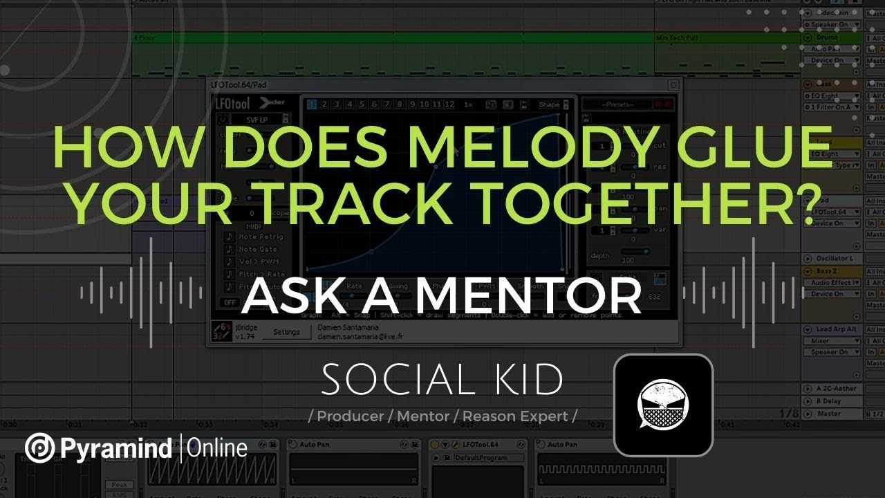 How to create simple COUNTERPOINT MELODIES with Social Kid
