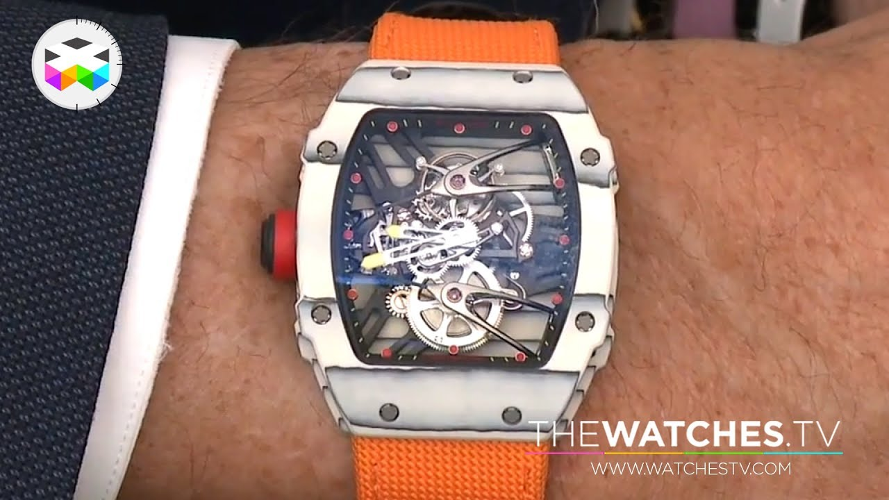 Richard Mille Introduces The Extreme Rm 27 02 Nadal And Opens A New Boutique In Paris