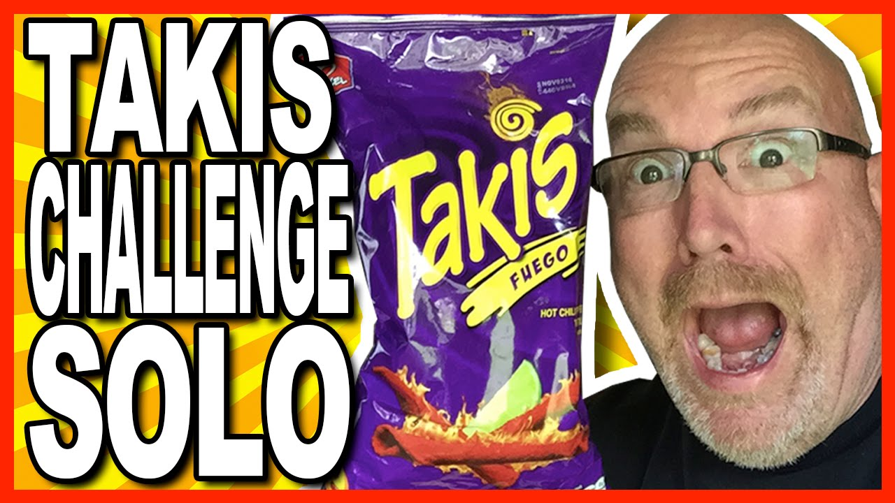 Takis Fuego Challenge Solo