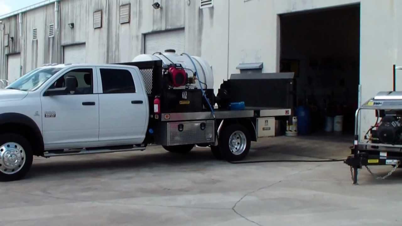 Truck Mounted Pressure Washer 3500 Psi 8 Gpm Honda Gx690