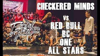 RADIKAL FORZE JAM 2019 | SEMI FINAL BBOY 4vs4 | CHECKERED MINDS vs RED BULL BC ONE ALL STARS