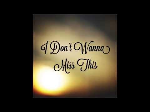 """I Don't Wanna Miss This"" Tyler Ward (Joshua Moss Cover)"