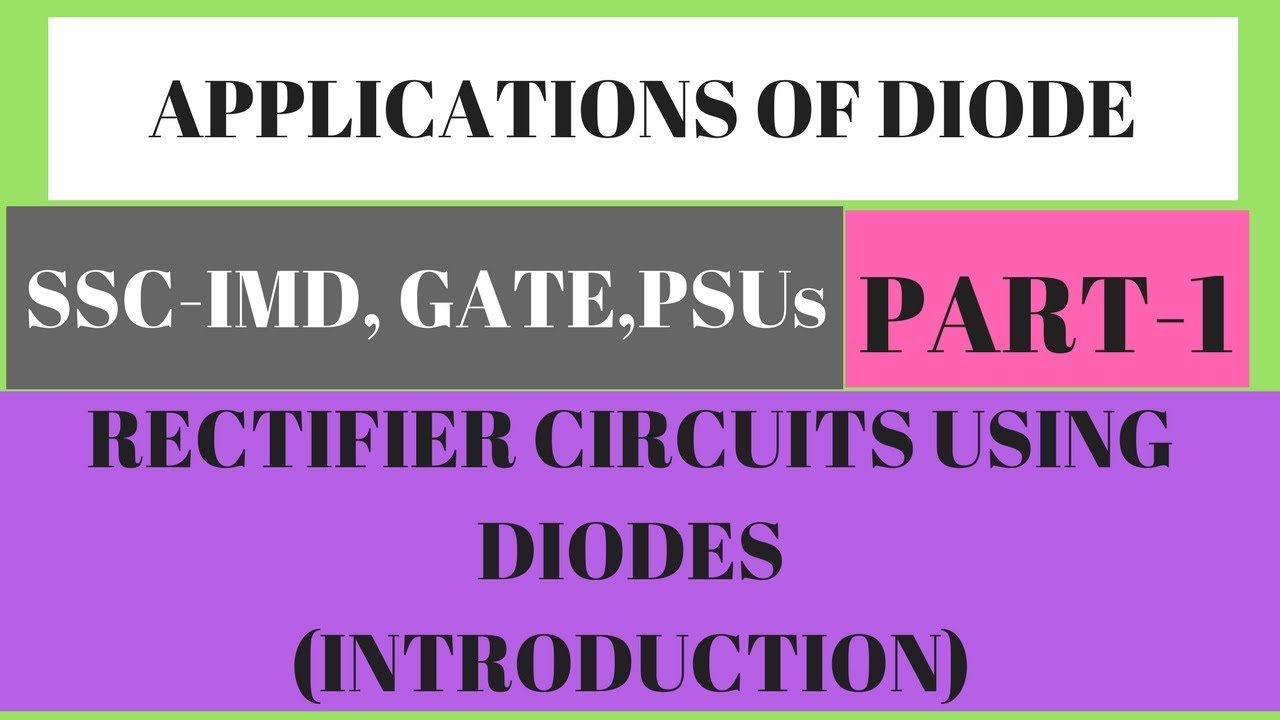 Rectifier Circuits Using Diodes Introduction Applications Of Pipo Shift Register Tutorial Sequential Logic Flyhigh Tutorials