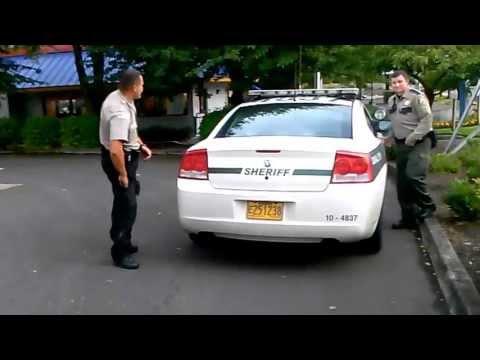 Deputy Mendoza mendosa Clackamas County cop hates filming