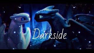 Toothless/Light fury   Darkside