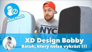 Batoh, který NELZE VYKRÁST s integrovaným USB... !!! -- (XD Design Bobby Backpack Anti-theft Review)