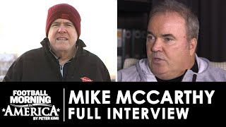 Mike mccarthy sits down with nbc sports' peter king to discuss his time in green bay as well coaching future the nfl. #nbcsports #peterking #mikemc...