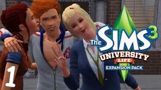 Let's Play: The Sims 3 University Life - (Part 1) - Create-A-Sim