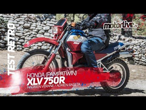 HONDA XLR 750R I TEST RETRO