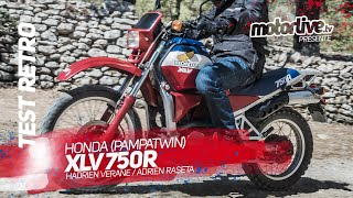 HONDA XLV 750R I TEST RETRO