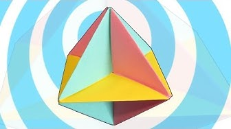Easy Modular Origami spinner (6 pieces)