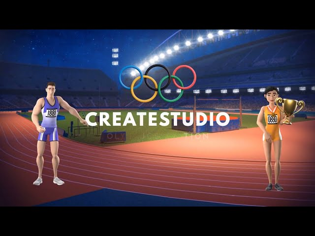 ✅ NEW: CreateStudio Olympic Games Sports Characters July 2021 v1.10.4