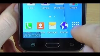Samsung Galaxy J5 (2016), (2017) - How to enable SAFE MODE thumbnail
