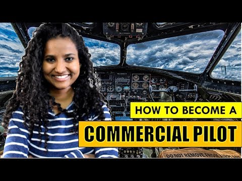 How to Become A Commercial Pilot in India (Education, Fees