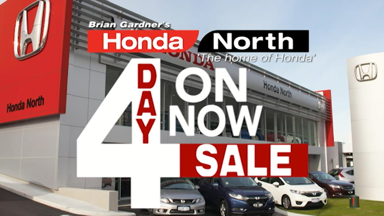 Honda Norths 4 Day SALE
