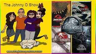Ep. #499 Jurassic Park Marathon: Lead Up to Jurassic World Fallen Kingdom