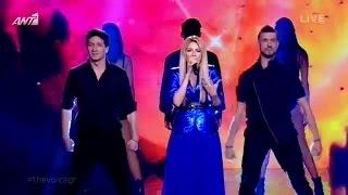 Μαρία Έλενα Κυριάκου - One last breath | The Voice of Greece - 6th Live Show (S02E18)