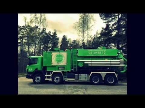 Materialblåsning - Sugbil i Stockholm