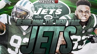Madden 18 Connected Franchise | Rebuilding The New York Jets | Jets Draft A Star Quarterback!