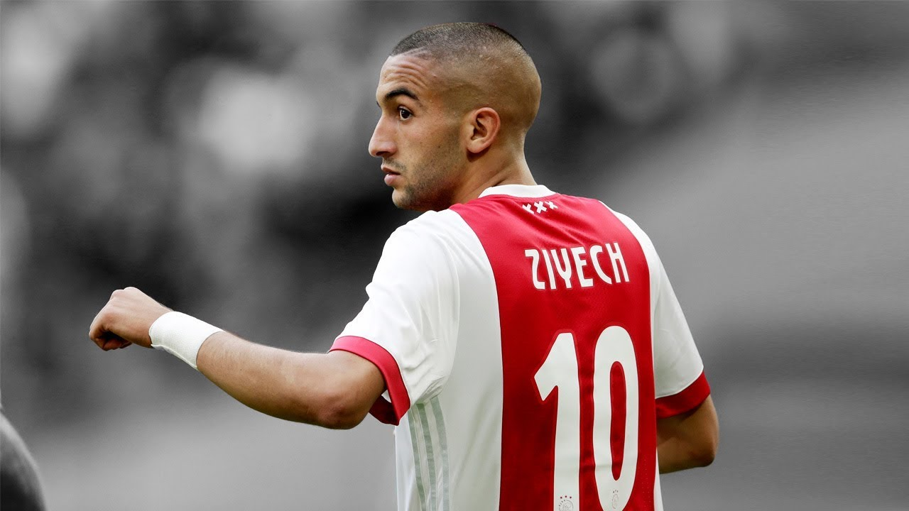Hakim Ziyech  E  B Goals And Skills  E  B   Hd