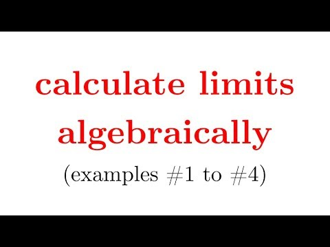 evaluate limits algebraically w worksheet in description part1 calculus 1 pre calc youtube. Black Bedroom Furniture Sets. Home Design Ideas